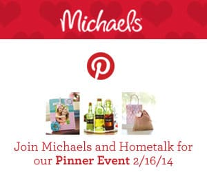 Hometalk Michaels Pinterest Party