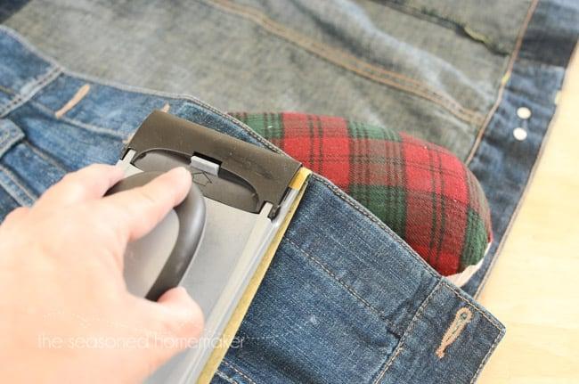 How to Distress a Cheap Denim Jacket