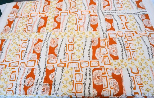 Piecing a Strip Quilt