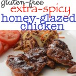 Extra Spicy {Honey Glazed} Chicken