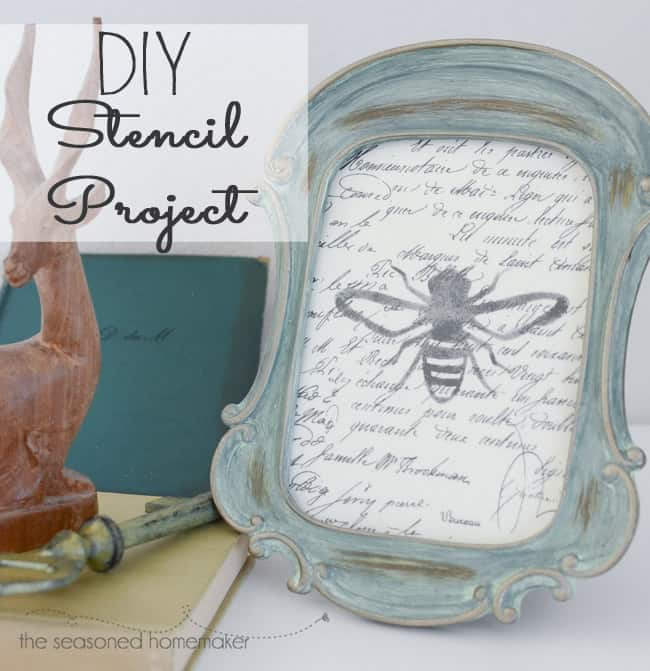 Easy Stencil Project with Silhouette