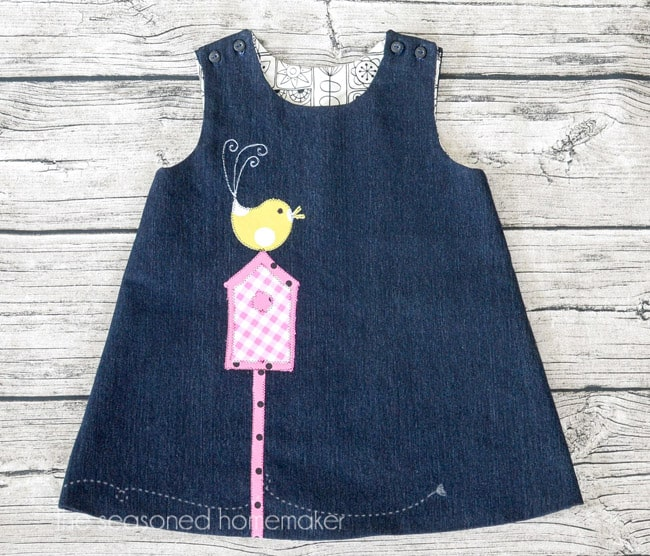 A-Line Dress for Baby Girl - The Seasoned Homemaker