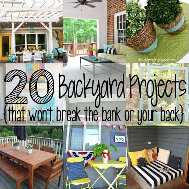 Realistic Backyard Projects