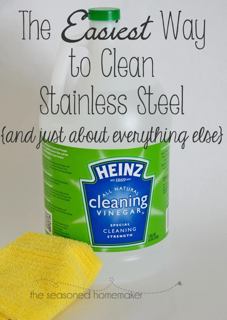 The Seasoned Homemakerclean With Vinegar Cleaning