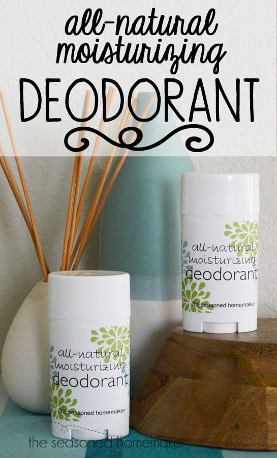 How to Make Deoderant