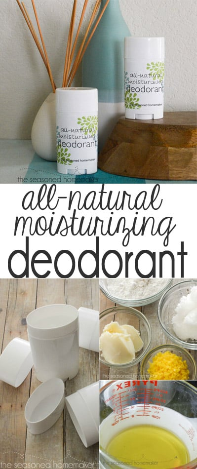 How to Make Deodorant