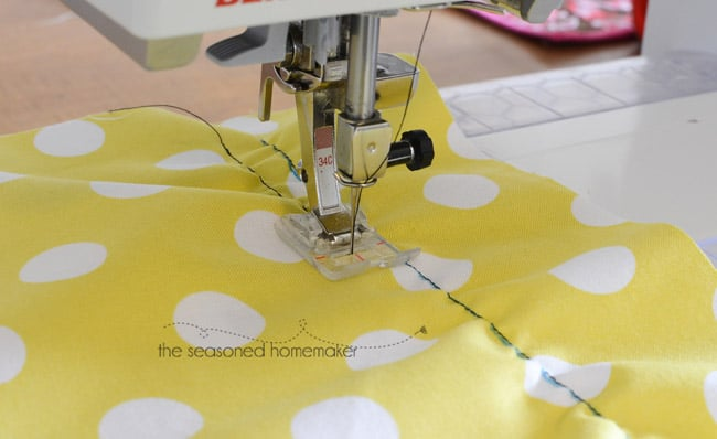 Shirring With Elastic Thread is an easy sewing technique that adds a huge wow-factor to any garment. Because it has soft gathers, garments are comfortable and loose. And, it is easy. Learn how to Shirr Fabric with Elastic Thread in my easy-to-follow tutorial.