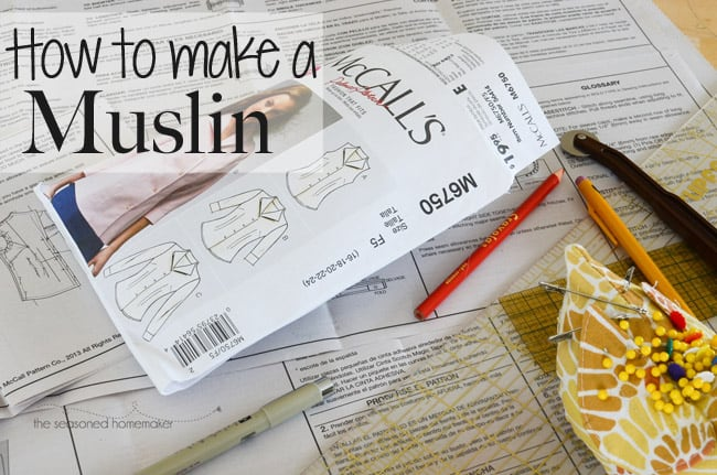 How to Make a Muslin