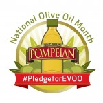 National Olive Oil Month with Pompeian