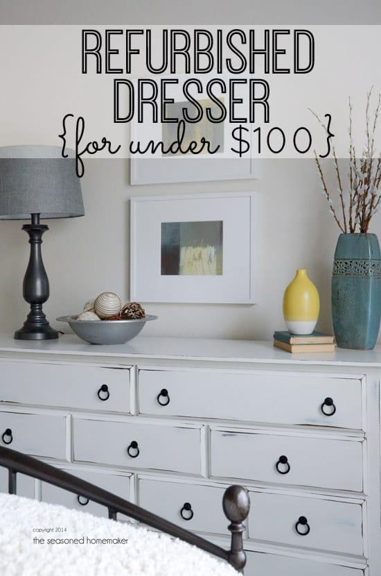 $100 Dresser Makeover
