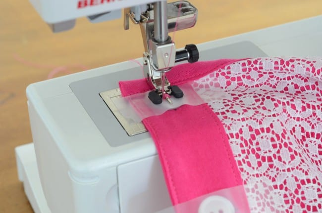 Sew on Buttons with a Sewing Machine
