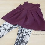 Nothing is easier to sew for a child than a pair of leggings. They can be made in a few minutes and the possibilities are endless. Find out How to sew a pair of leggings and a top.