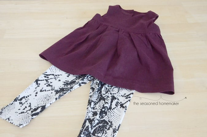 Nothing is easier to sew for a child than a pair of leggings. Find out How to Sew Leggings and a Top.