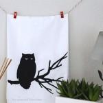 Halloween Tea Towel