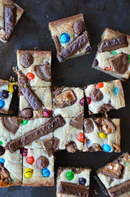 Are you baffled by what to do with all that Leftover Halloween Candy? Here's a collection of the best Halloween Candy Recipes.
