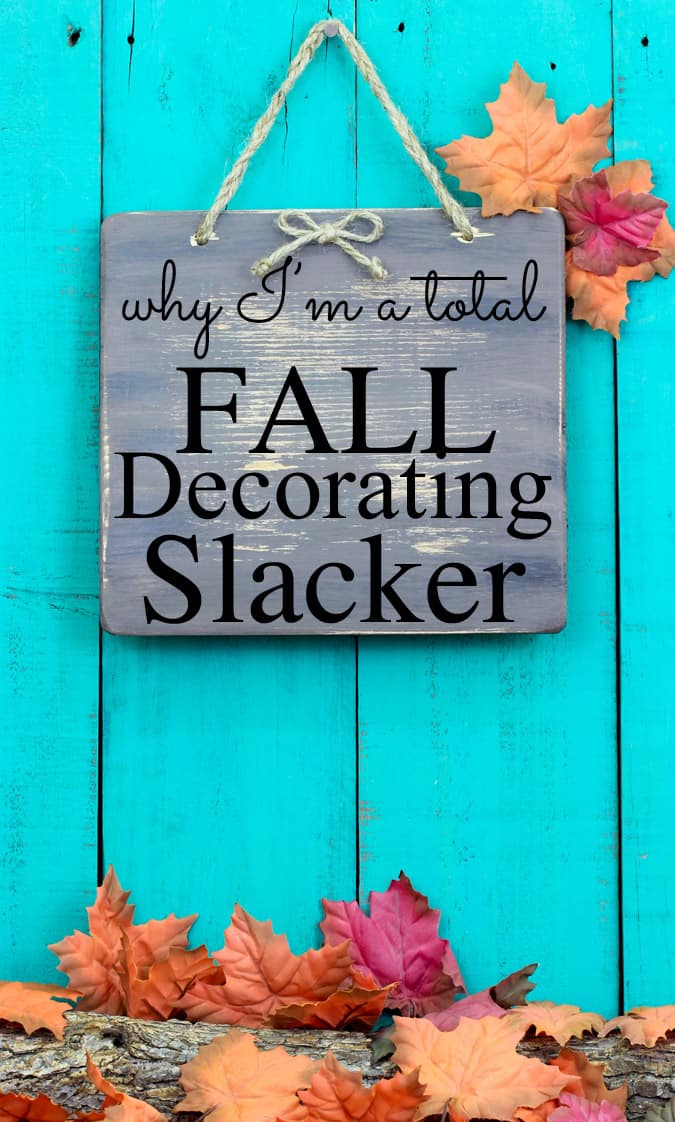 Are you overwhelmed with Fall Decorating? I know I am. Fall decor can be fun and I have a few simple tricks that make my home festive for Autumn without having to redecorate my entire house. Best of all, it's budget friendly because it costs me nothing!