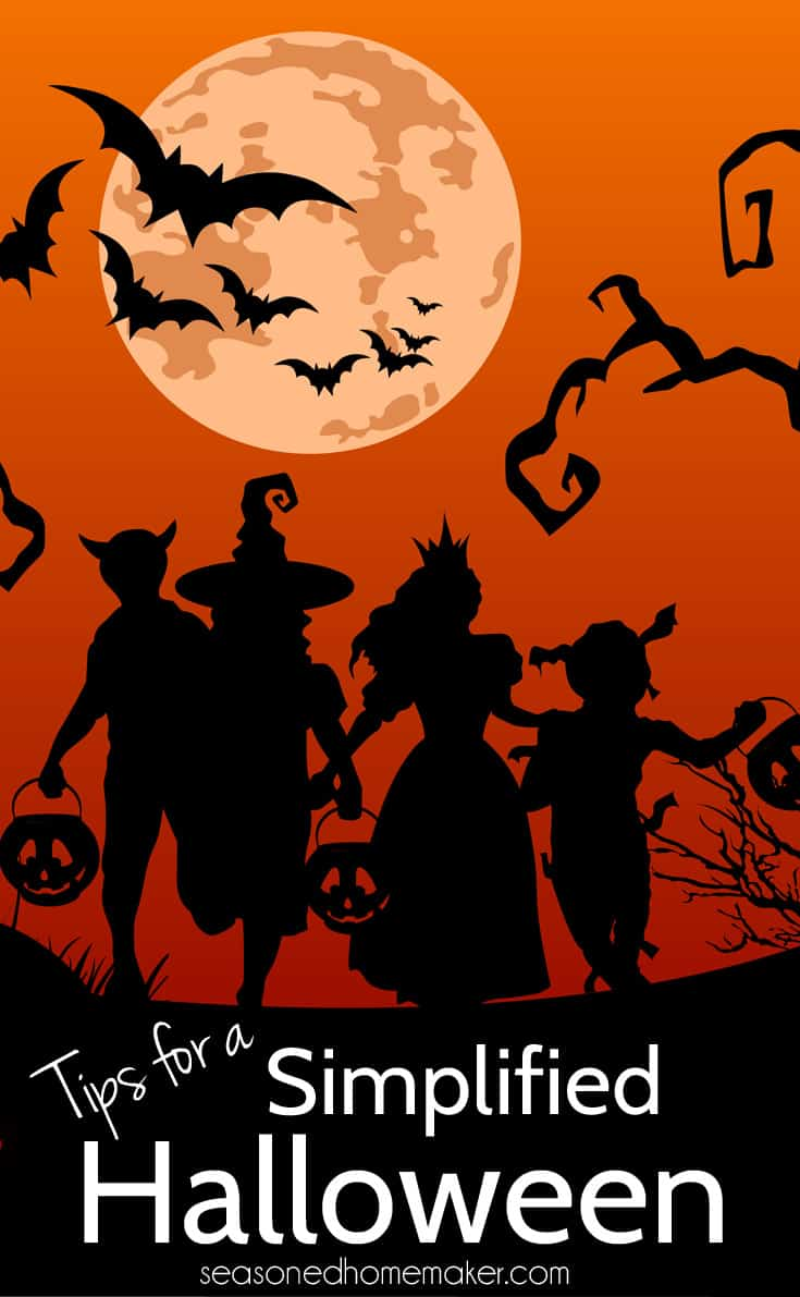If you are overwhelmed by Halloween planning then I have a few ideas that will make this family holiday memorable. It doesn't have to cost you any money. Halloween is the perfect opportunity to reach out to neighbors. Learn ways to Have a Simple Halloween.
