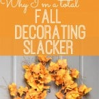 The many reasons I don't decorate for fall