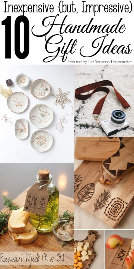 inexpensive but impressive handmade gifts