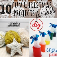 Christmas Projects that kids will enjoy making