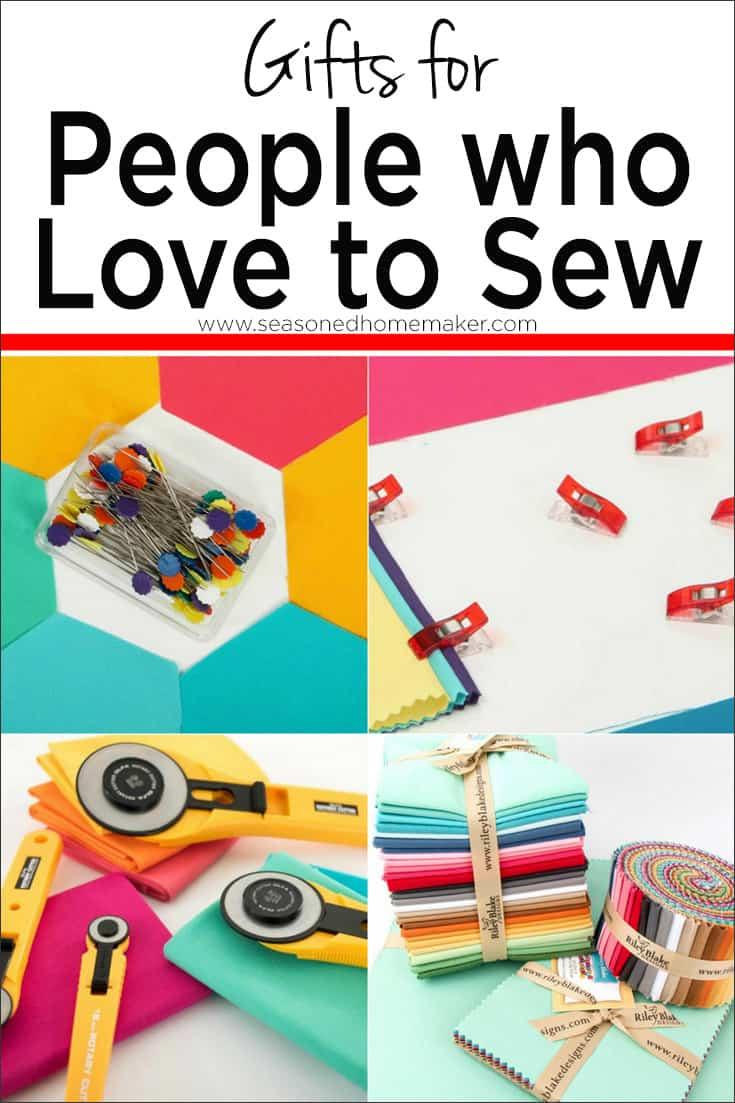 Gift Guide for People Who Sew & Quilt