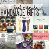 Last Minute Handmade Gifts are easy and inexpensive gifts people will love.