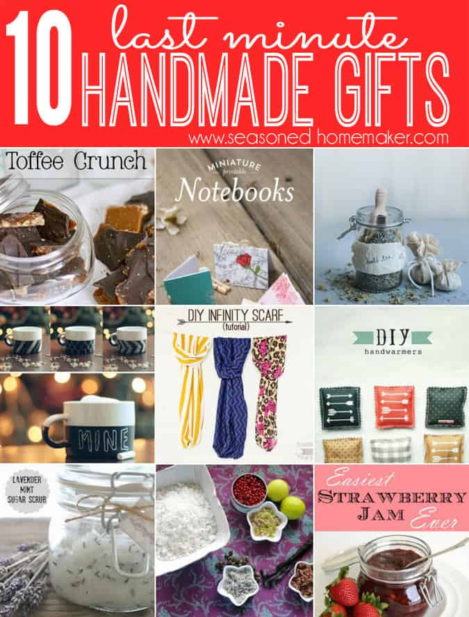 Last minute handmade gifts that are easy and inexpensive Easy gift ideas for friends