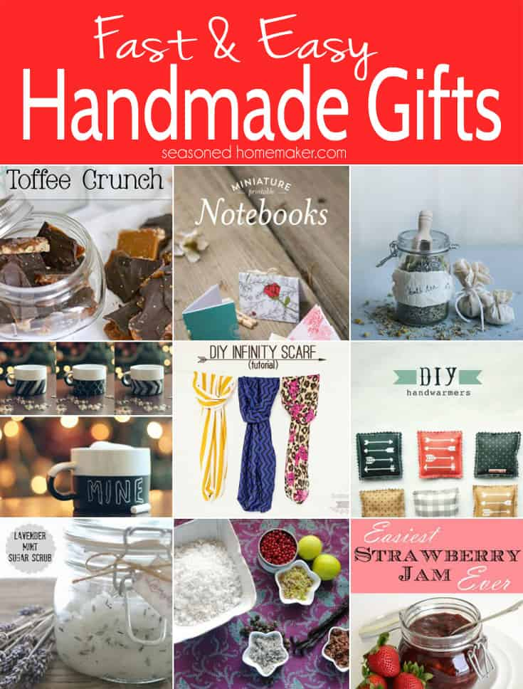 Last minute handmade gifts that are easy and inexpensive for Easy presents to make for friends