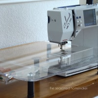 Sew Steady Acrylic Table