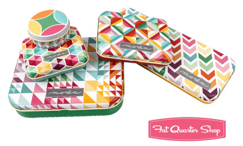 Gift Guide For People Who Sew & Quilt - sewing storage tins