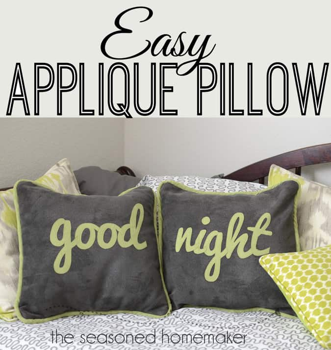 If you enjoy sewing and crafts then Appliqué is an ideal beginner sewing project. Appliquéing lettering is fast and easy once you learn the basics. Find out the secret to appliqué lettering.