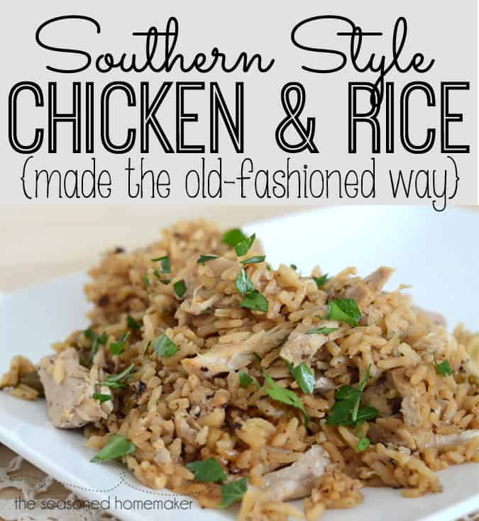 How To Cook Old Fashioned Chicken And Rice