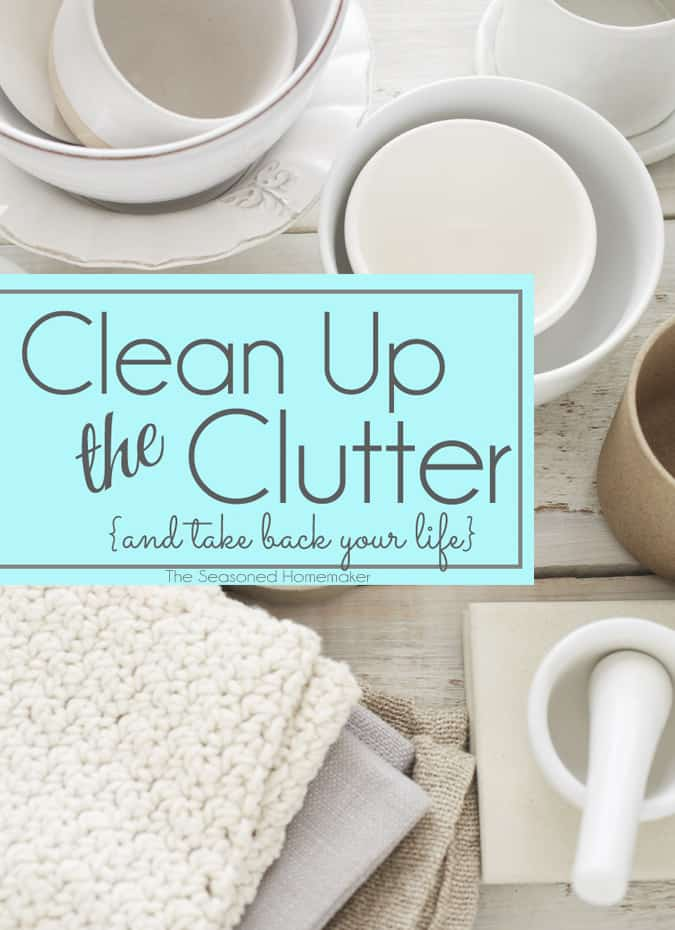 Declutter your home and de-stress your life. Don't let clutter and a disorganized home rob your peace of mind. Instead, learn how to get rid of clutter forever. Clean Up the Clutter and take back your life.