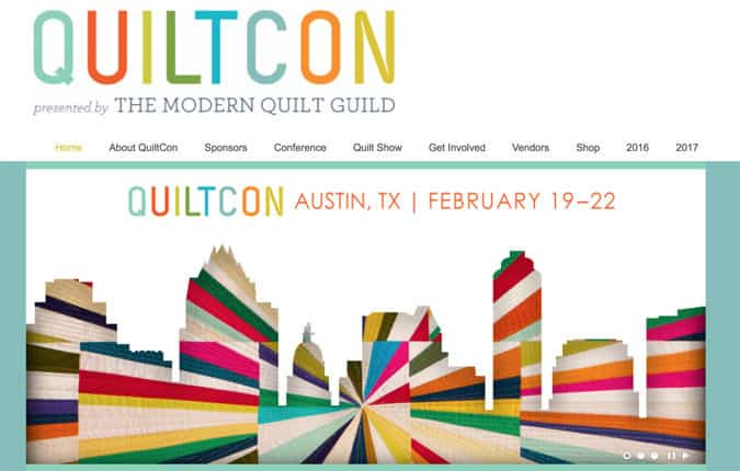QuiltCon Modern Quilting Convention
