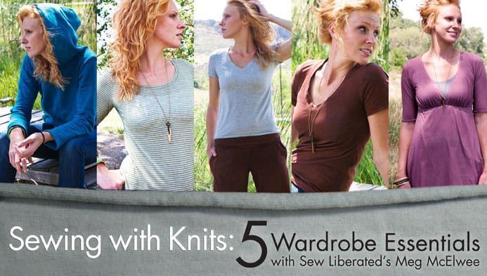 Learn All About Sewing With Knits