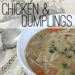 In our home nothing satisfies like a warm bowl of Gluten-Free Chicken & Dumplings. It's the perfect comfort food on a cold day. I make the entire recipe in my Instant Pot, for a quick and easy meal. | Popular Pins