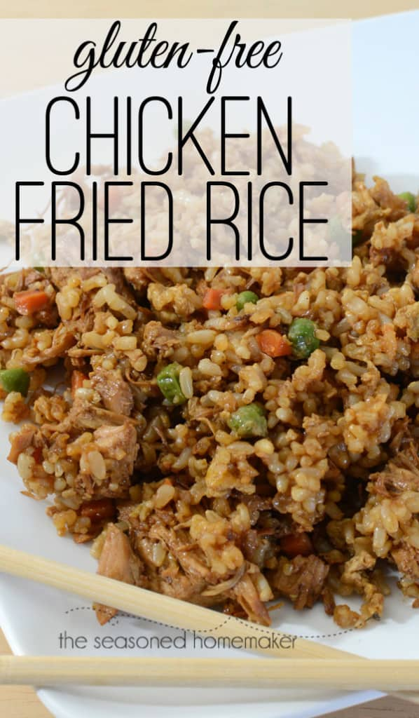 Gluten free chicken fried rice looking for a fast and easy chicken recipe try gluten free chicken fried rice ccuart Choice Image