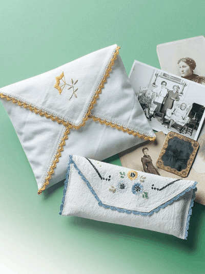 Cute ways to repurpose vintage linens