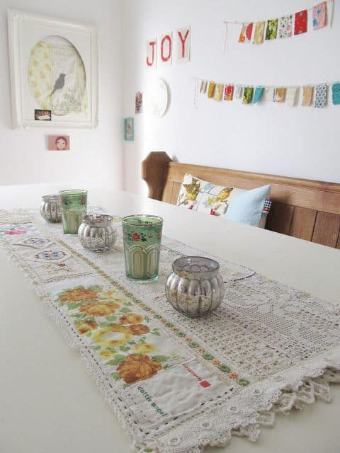 15 Cute Ways To Repurpose Vintage Linens