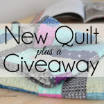 Some quilts are so easy to make. I made this quilt by using a Jelly Roll and following an easy video tutorial. I'm giving away one jelly roll so you can make this quilt, too. #seasonedhome