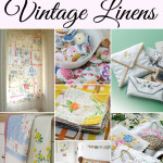 Repurposed Vintage Linens