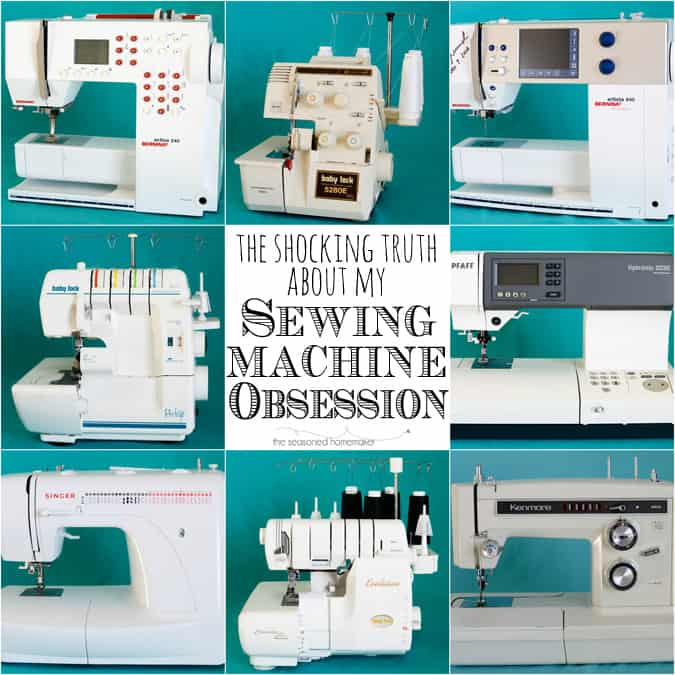 The Shocking Truth About My Sewing Machine Obsession Enchanting What Is The Sewing Machine