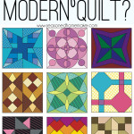 In the world of quilting, modern quilts are the new kid on the block. Do you know what defines a modern quilt? It's not really that cut and dry. Find out a few ways to define modern quilts.