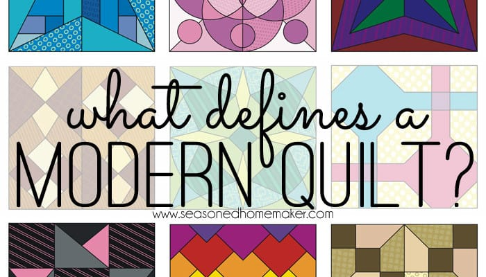 What Defines a Modern Quilt?