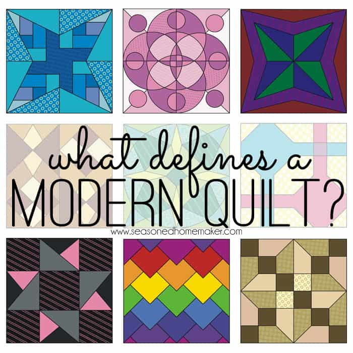 What defines a modern quilt - What does contemporary mean ...