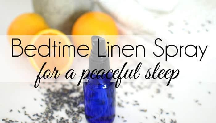 Bedtime Linen Spray