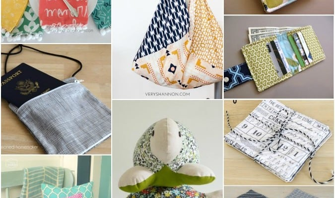 Things to Make with Fat Quarters + A Giveaway