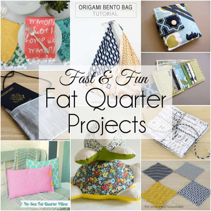 Things to make with fat quarters for Craft patterns to sew