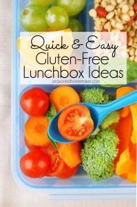 Follow this simple formula for a quick and easy gluten-free lunch. Whether for yourself or your kids heading back to school, these lunchbox ideas will prepare you for healthy lunches all year long. Grab a bento box and pack up these five components for a nourishing on-the-go meal or even an outdoor picnic. Ideas and recipes including gluten-free, paleo, and dairy-free options.
