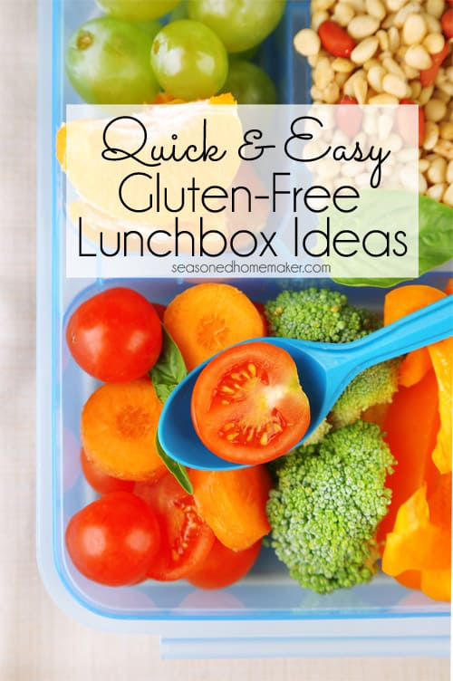 Quick Easy Gluten Free Lunch Ideas